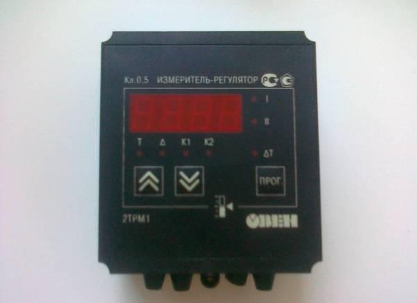 Выходные устройства регулятора температуры трм1.